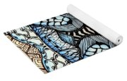 Wild Thoughts Yoga Mat