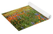 Wildflower Wonderland 4 Yoga Mat
