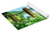 Wildflowers At The Lake In Spring Yoga Mat