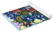 Wildflowers Yoga Mat