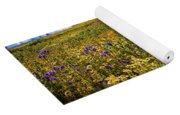Wildflowers Of The Carrizo Plain Superbloom 2017 Yoga Mat