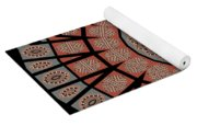 Window Mosaic - Mandala - Transparent Yoga Mat