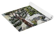 Winter Trees Yoga Mat