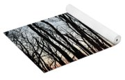 Winter Trees Yoga Mat