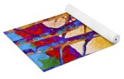 Winter's Promise Yoga Mat