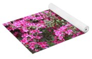Wonderful Pink Azaleas Yoga Mat