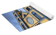 Wooden Cathedral  Yoga Mat