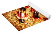 Wooden Toy Soldiers Yoga Mat