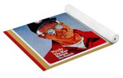 Woody Hayes Legen Five Panel Yoga Mat