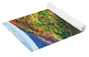 Worlds End State Park Lookout 3 - Paint Yoga Mat