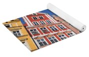 Wroclaw Old Town Houses Yoga Mat