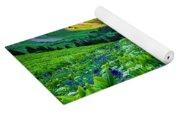 Yankee Boy Basin Flowers Yoga Mat