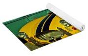 Yellow Cobra Yoga Mat