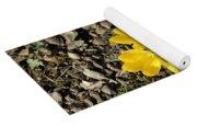 Yellow Crocus Yoga Mat