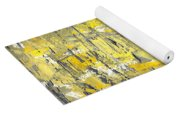 Yellow Sadness Yoga Mat