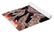 Zebras Eye - Abstract Art Yoga Mat