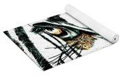 Zebras Eye - Studio Abstract  Yoga Mat