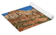 Zion Canyon - Navajo Sandstone Yoga Mat