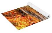 Autumn Avenue Yoga Mat