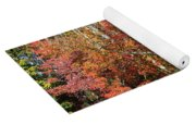 Autumn Colours In Great Smoky Mountains National Park Yoga Mat