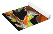 Fallen Leaves Yoga Mat