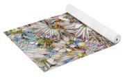 Floral Art Yoga Mat