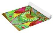 Flower Garden Mandala Yoga Mat