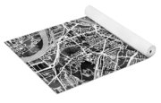 Cologne Germany City Map Yoga Mat