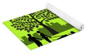A Day In The Park Yoga Mat