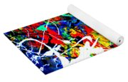 abstract composition K12 Yoga Mat