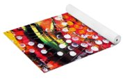 Abstract Lion Fish Yoga Mat