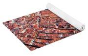 Aerial View Of Grand Canal And Rialto Bridge, Venice, Italy Yoga Mat