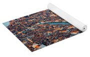 Aerial View Of Grand Canal, Venice, Italy Yoga Mat