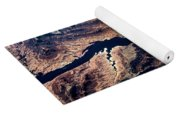 Air View Of The Grand Canyon Yoga Mat
