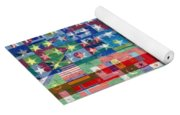 American Flags Of The World Yoga Mat