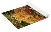 Autumn Color In Smoky Mountains National Park Yoga Mat