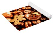 Beans And Buttons Yoga Mat