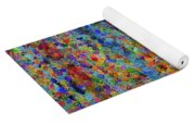 Beech Grove Abstract Expressionism Yoga Mat