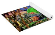 Bellagio Conservatory Spring Display Ultra Wide Trees 2018 Yoga Mat