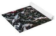 Berries And Snow Yoga Mat
