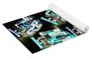 Blue Racers Yoga Mat