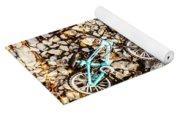 Bmx Pebble Race Yoga Mat