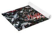 Happy Christmas 12 Yoga Mat