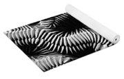 Brain Coral In Macro Bw Yoga Mat
