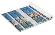 Brilliant Bermuda Cityscape Windows Yoga Mat