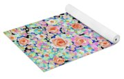 California Rose Garden Yoga Mat