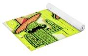 Chili Con Cacti Yoga Mat