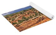 Colorado National Monument Trees Rock Formations 3087 Yoga Mat