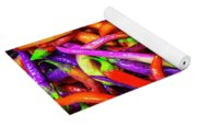 Colorful Peppers Yoga Mat