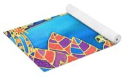 Colorful Tropics 16 Yoga Mat